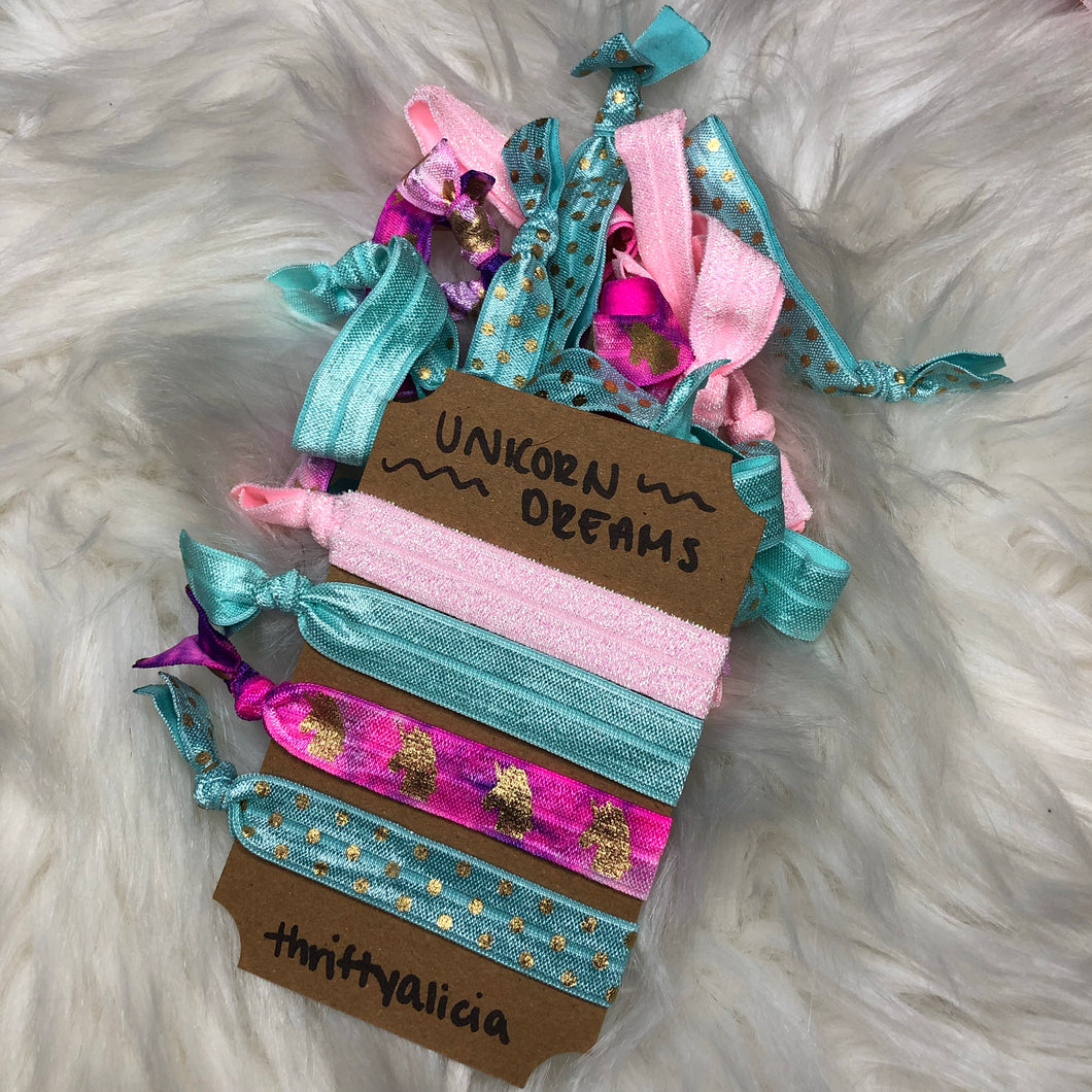 Unicorn Dreams Hair Tie Pack