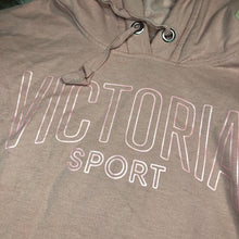 Load image into Gallery viewer, Victoria's Secret Cropped Hoodie