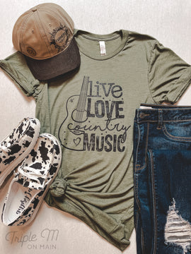 Country Music Graphic Tee