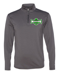 Men's 1/4 Zip Performance Poly Lightweight Pullover