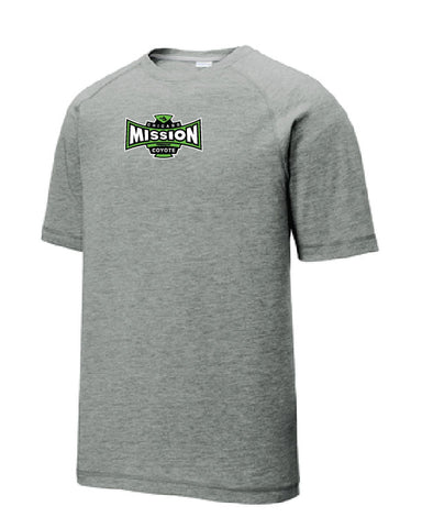 Mission Grey Performance T Shirt