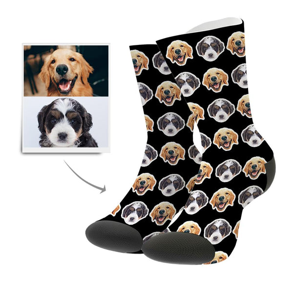 Custom Photo Socks Comic Style
