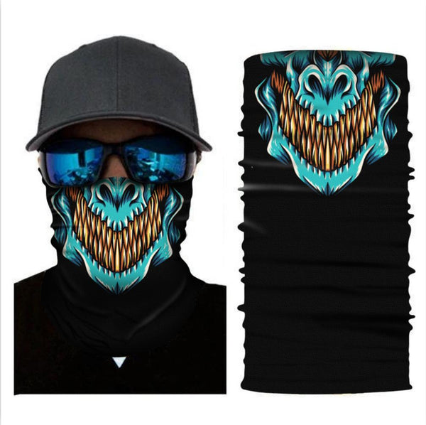 Multifunction Bandana Neck Gaiter Tube Headwear Face Scarf