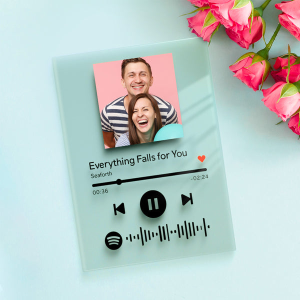 Personalized Spotify Code Music Plaque(4.7in x 7.1in)