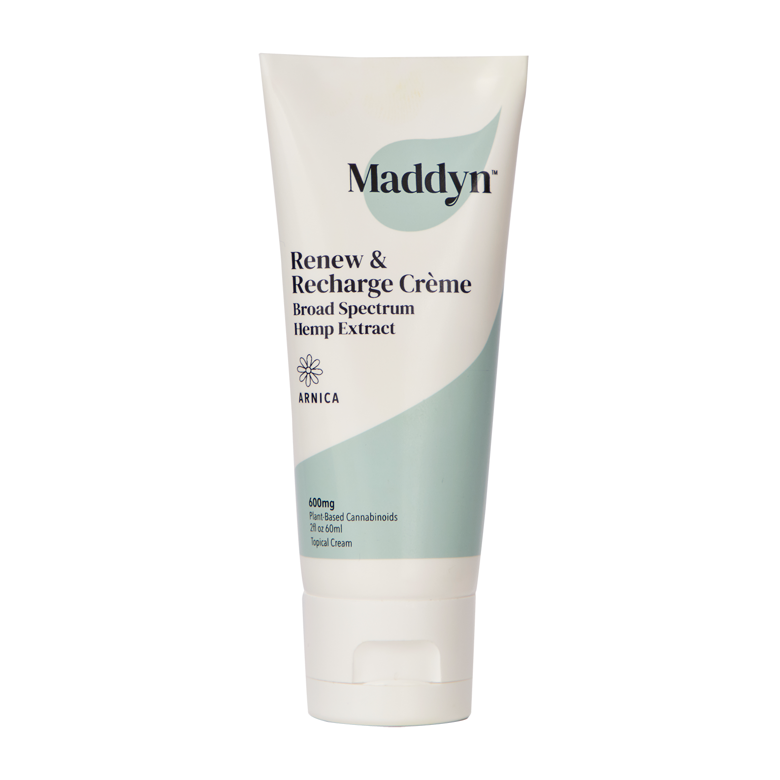 Maddyn Renew & Recharge broad spectrum  hemp extract topical cream