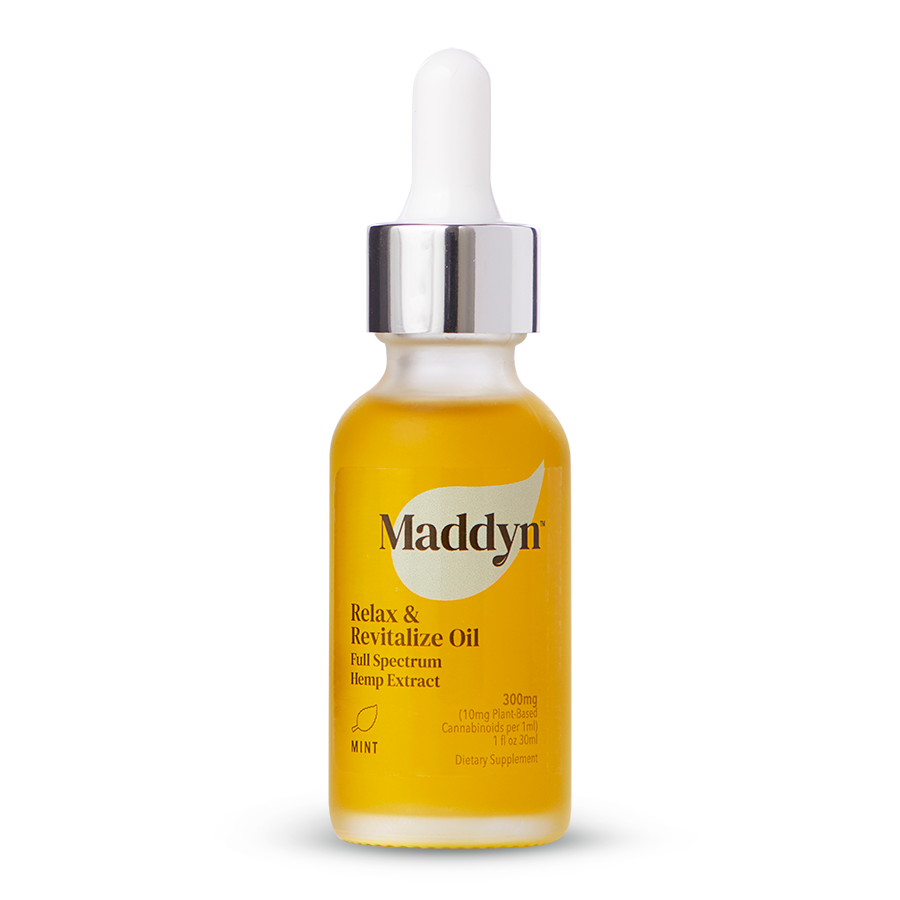 Maddyn Relax & Revitalize full spectrum hemp extract oil