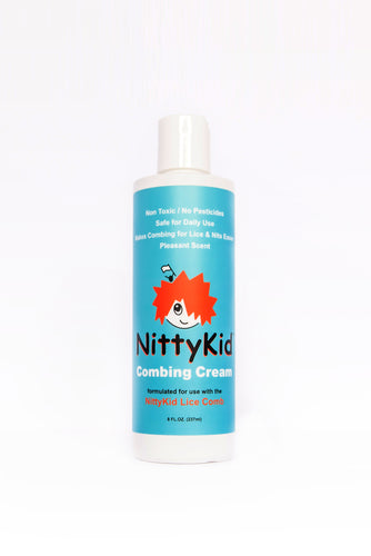 The LICE COMBING CREAM (To glide the Comb with ease) Ships FREE