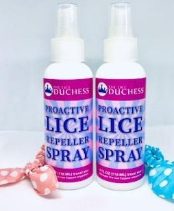 2 PROACTIVE LICE REPELLENT/DETANGLE SPRAYS (FREE Shipping)