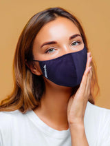 360 Mask - 4 PK Navy Light Blue
