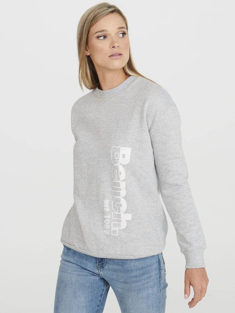 HALF AND HALF CREWNECK SWEATSHIRT