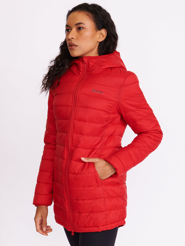 Blue Moon 3/4 Lightweight Puffer