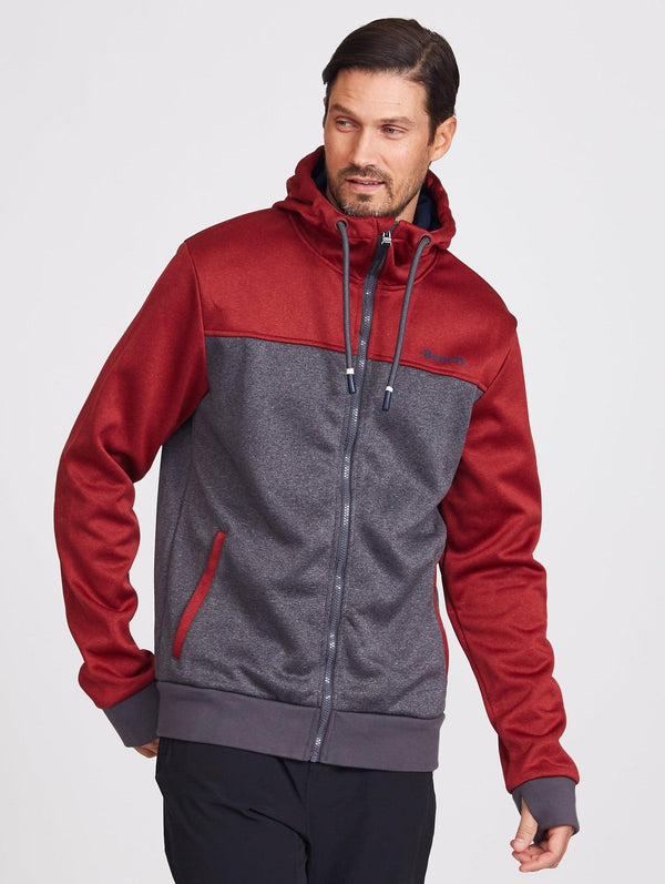 Bonded Colourblock Zip Hoodie - Bench Canada