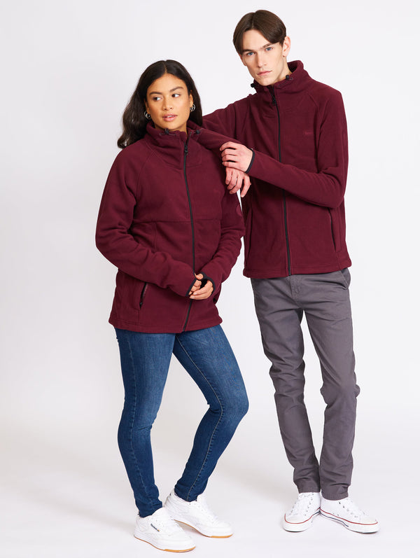 Fleece Zip-Up Sweater - Bench Canada