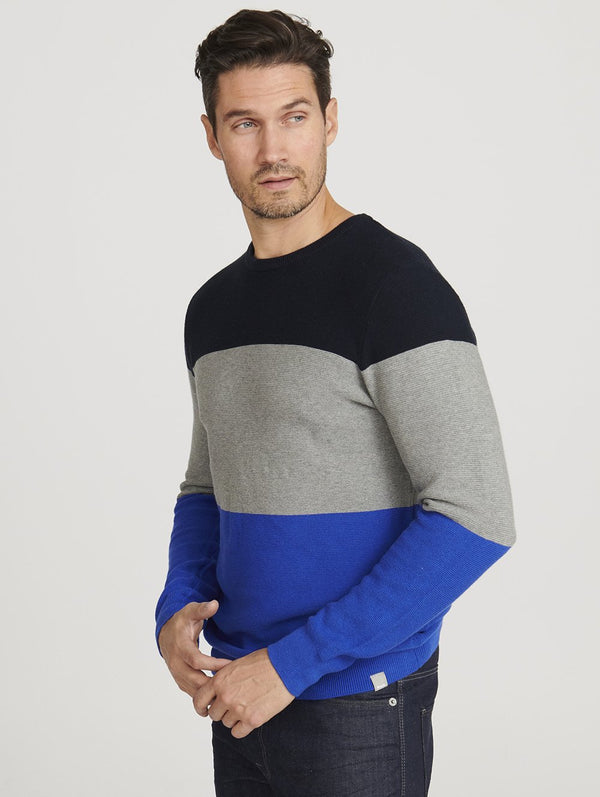 Men's Fastros Color Block Crew Neck - Bench
