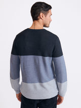 Brent Colour Block Sweater
