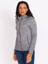 Short Bonded Velvet Sweater - Bench Canada