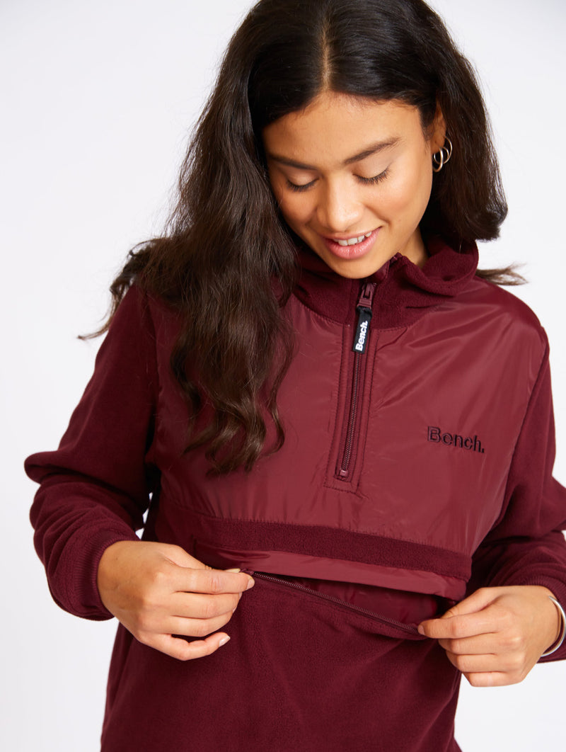 The Warm-up Zip-up
