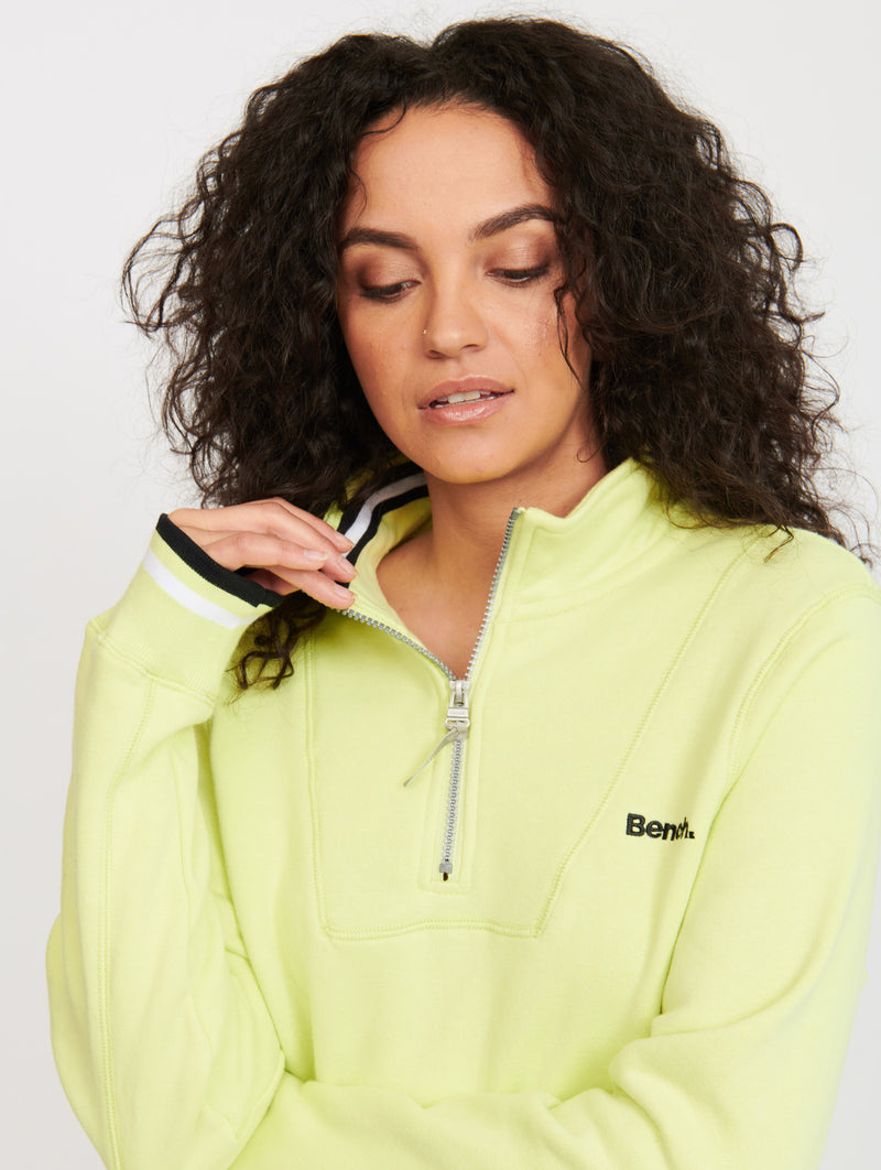 Tiago Half Zip-Up Mockneck