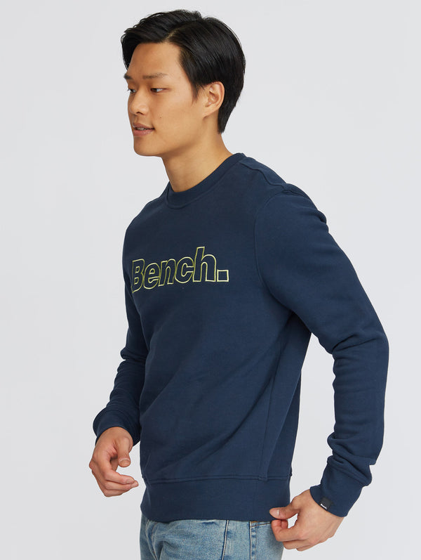 Men's CORE LOGO BENCH CREW NECK - Bench