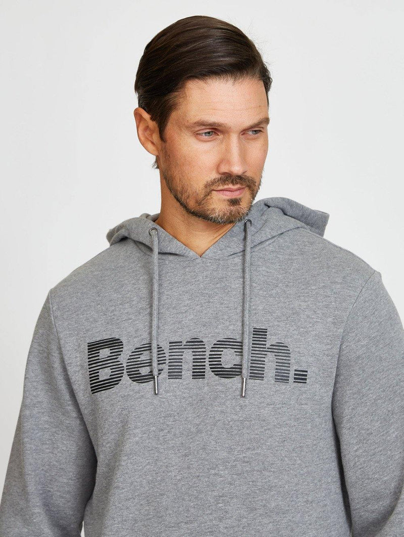 Bench Lined Logo Hoodie
