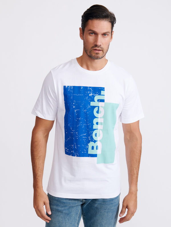 S/S T-shirt Block Graphic