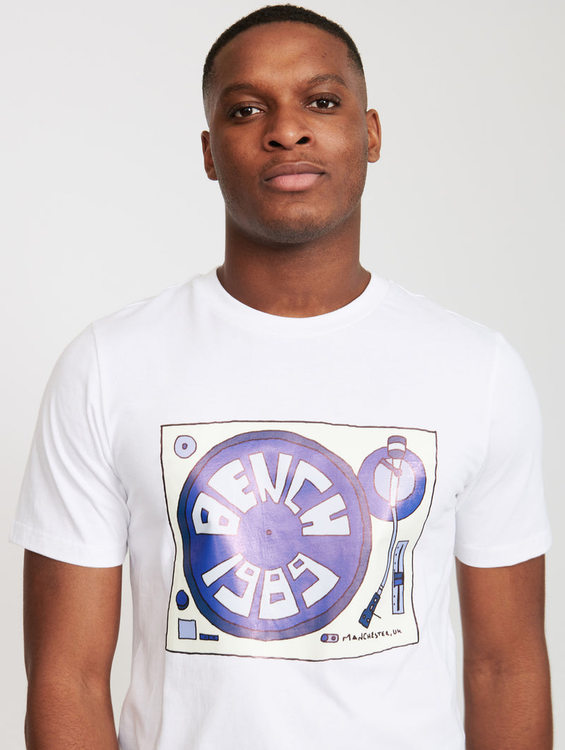 Vinyl Graphic T-shirt