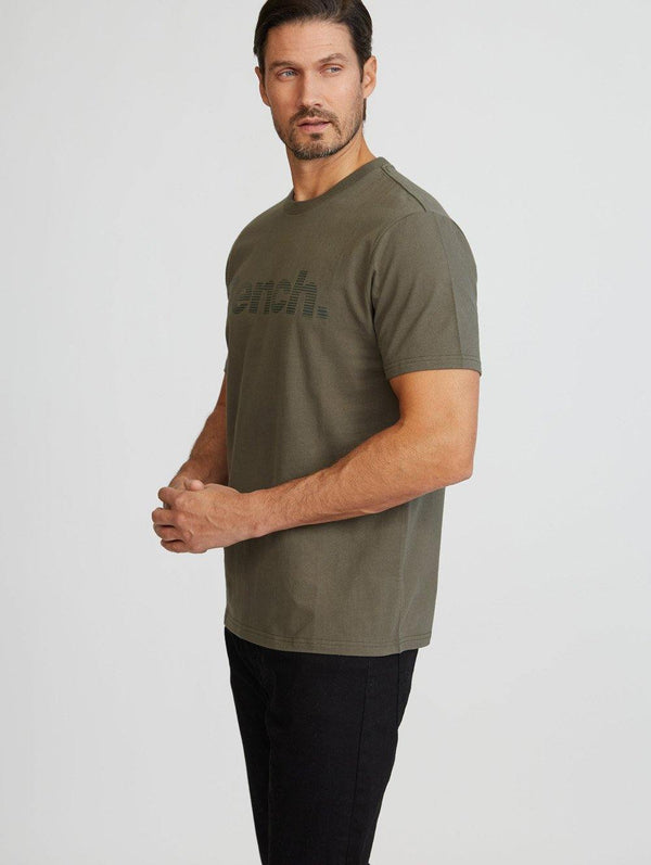 Bench Lined Logo S/S Tee - Bench Canada