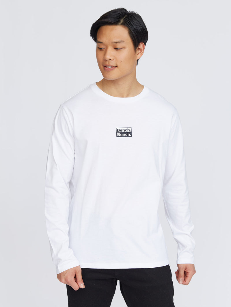 Double Logo L/S T-shirt - Bench Canada