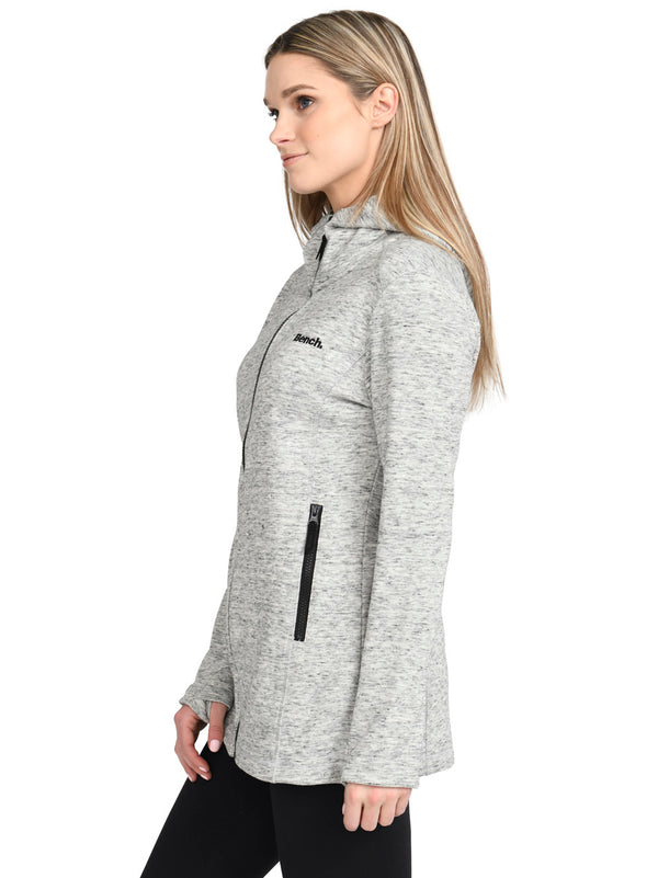 Long Zip-Up Hoodie
