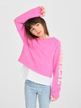 Double Layer Crew Sweat