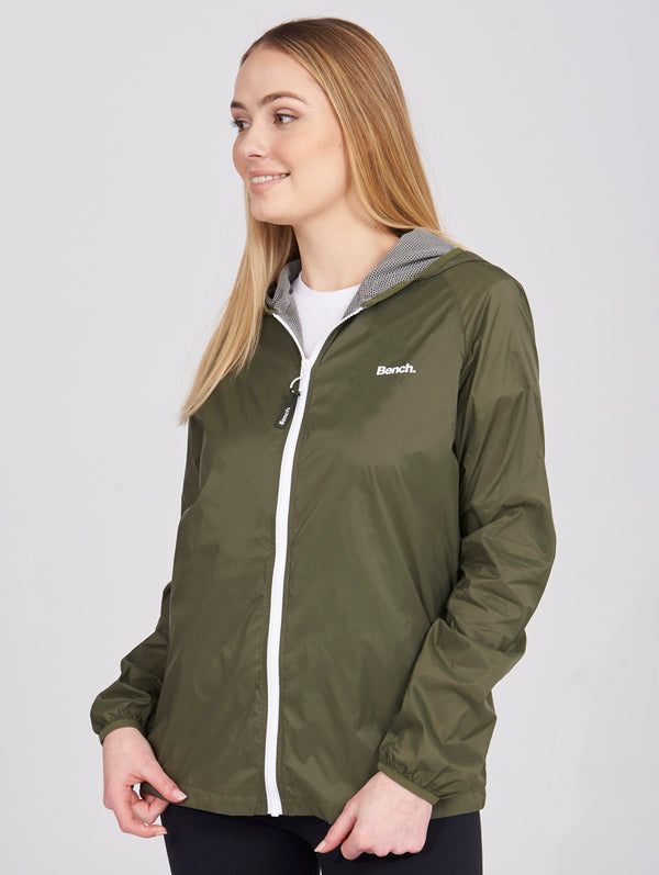 Ladies Pack-able Windreabker Jacket