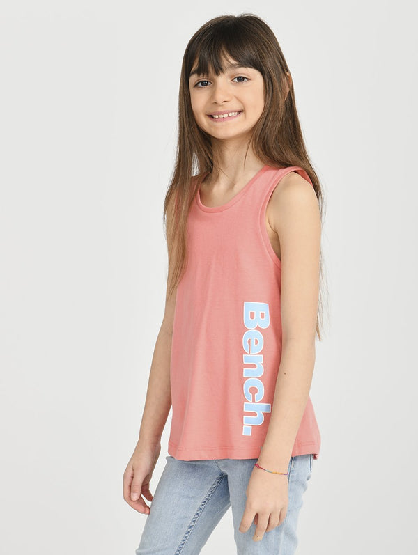 Girls's TANK W/ SIDE LOGO - Bench