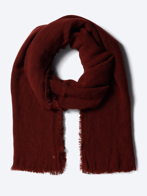 Accessory's Scarf with Woven Pattern - Bench
