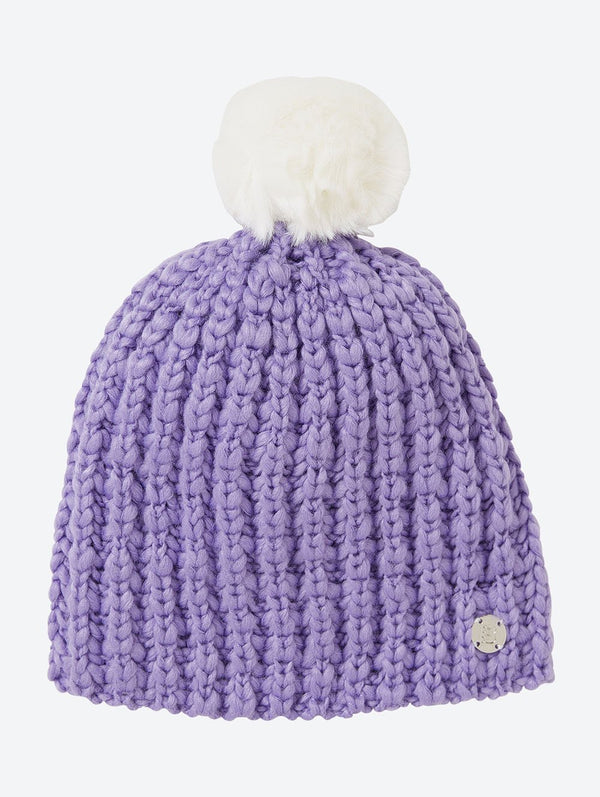 Accessory's Turn Up Bobble Beanie - Bench