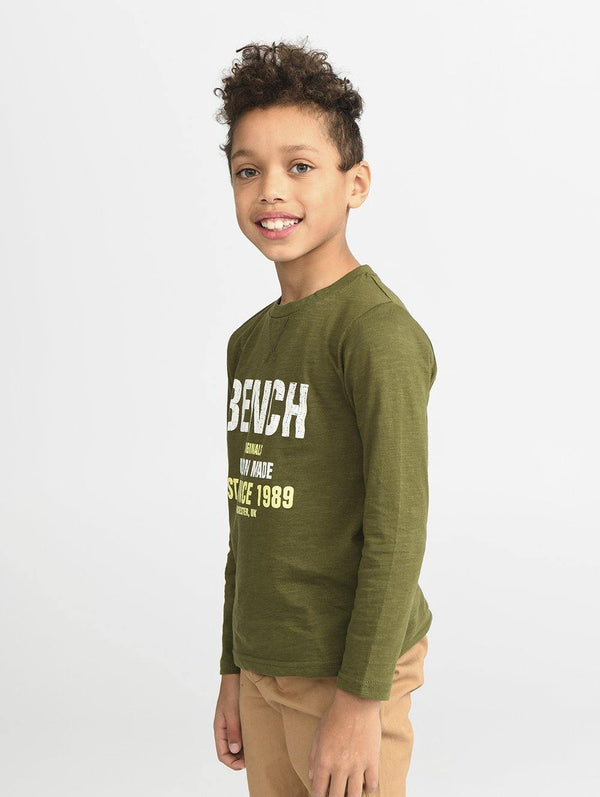Long Sleeve Slub Tee - Bench Canada