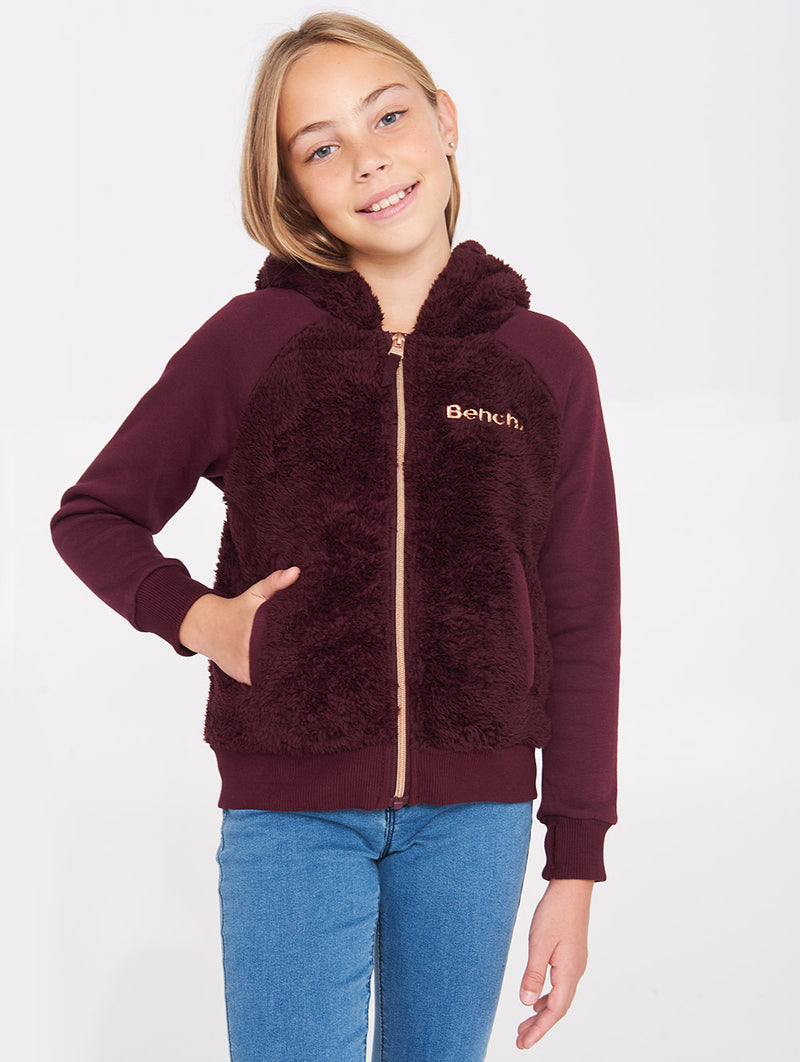 Cozy Mixed Zip-Up Jacket - Bench Canada