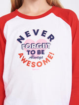 BE AWESOME BASEBALL LS
