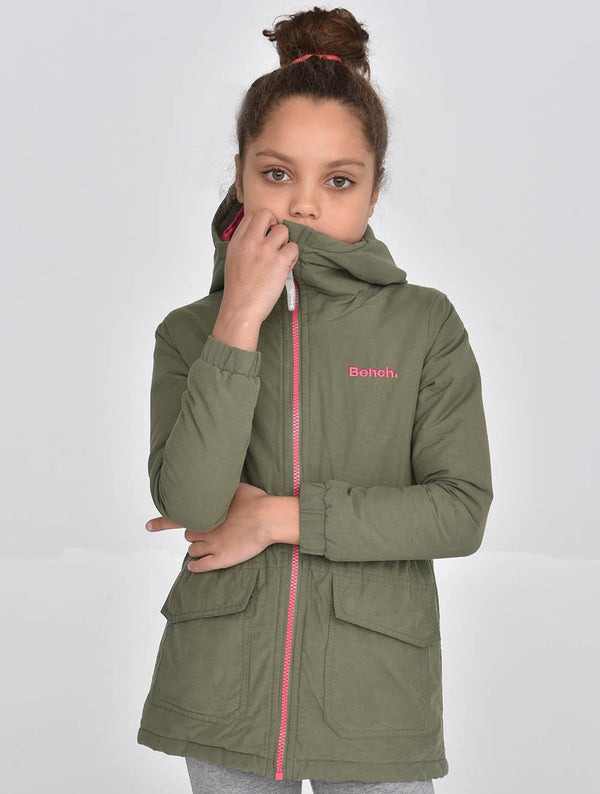 Girls's Cotton Parka - Bench