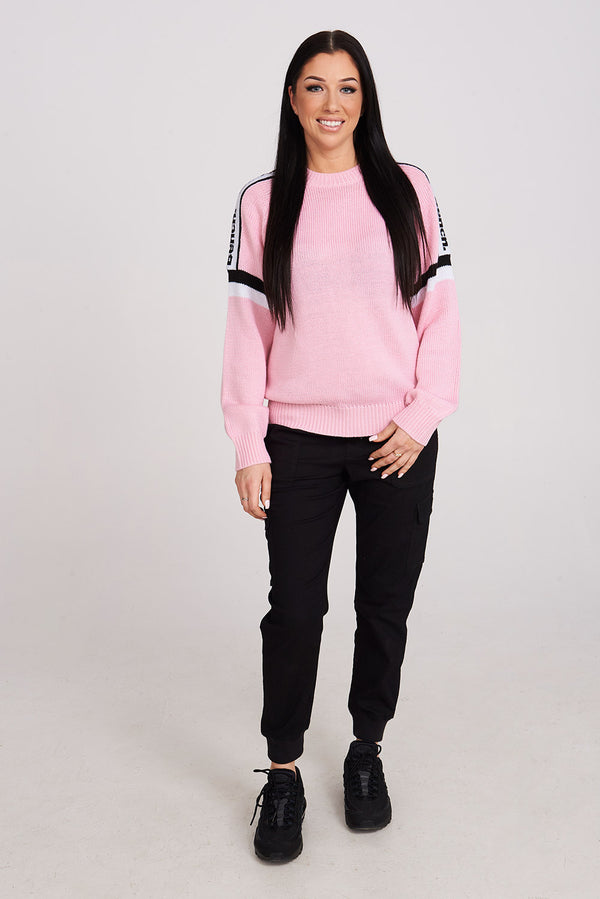 JESSIE CROP CREW NECK SWEATER