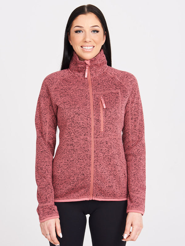 NAYLIE SHORT BONDED W/FLEECE JACKET