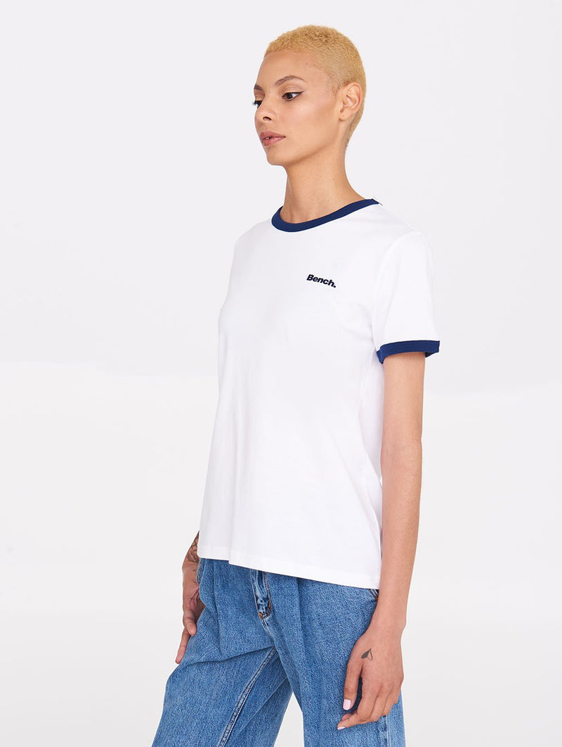 Women's EVERYDAY RINGER  TEE - Bench