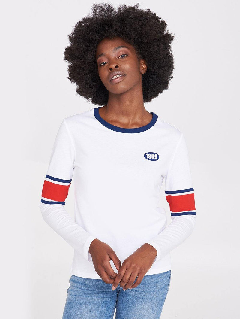 Women's BARMY LS TEE - Bench