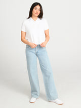 GROOVE CROPPED POLO