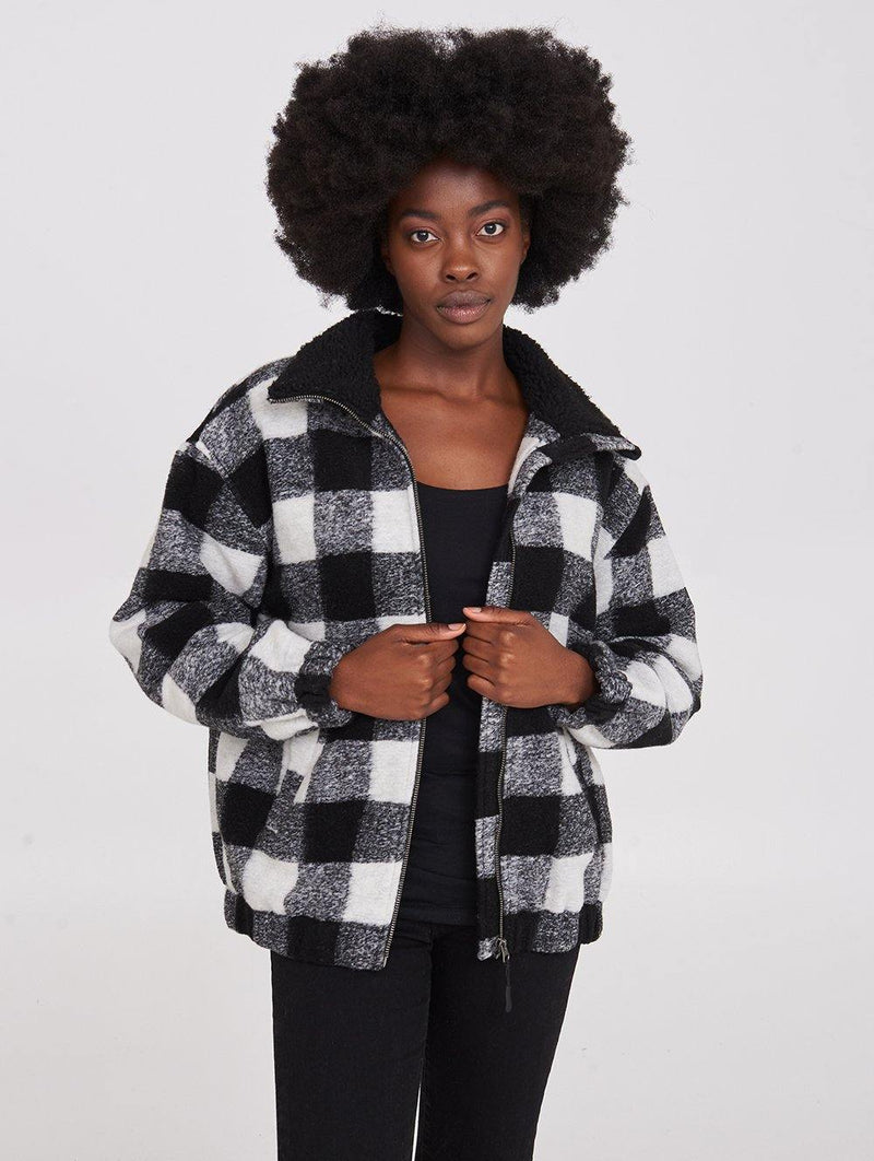 Boulder  Plaid Jkt - Bench Canada