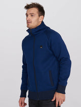 Men's Bonded Jacquard Zip Hoody - Bench