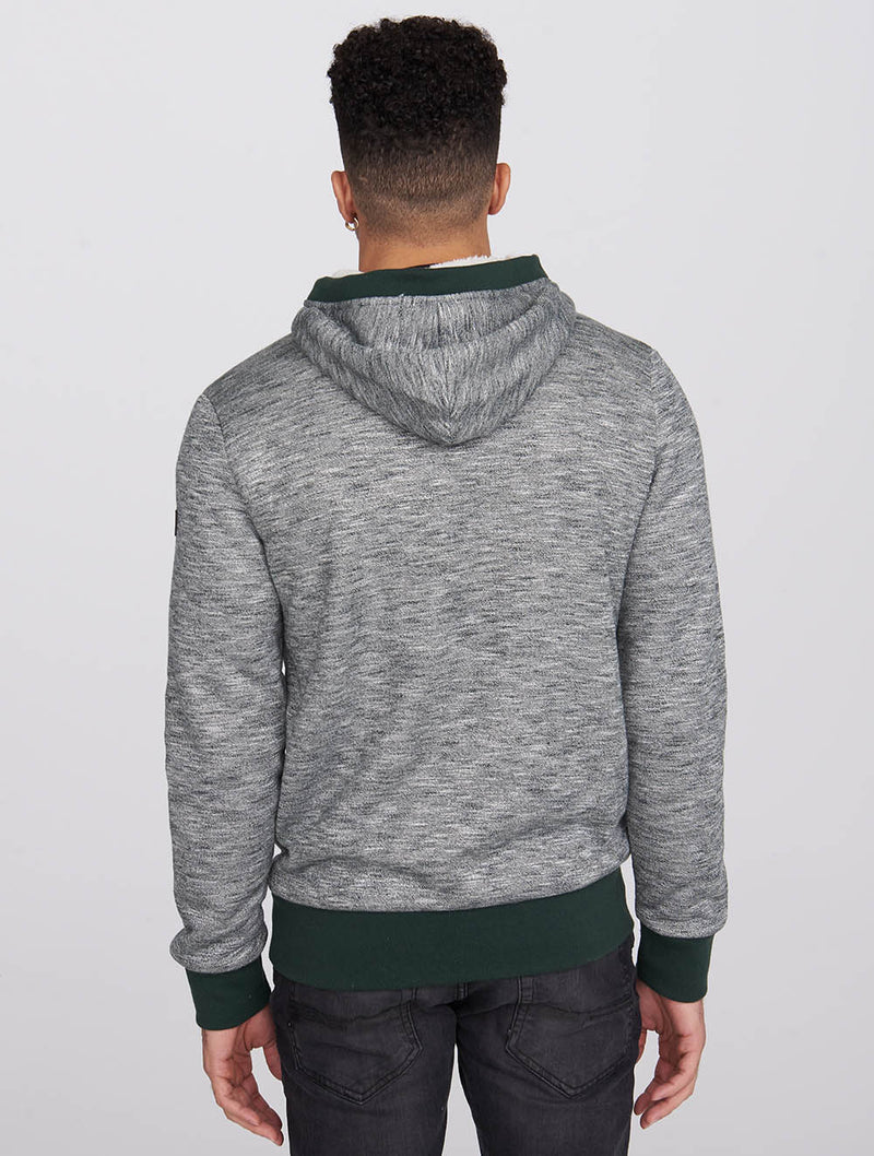 Men's Bonded Zip-Up Hoodie - Bench