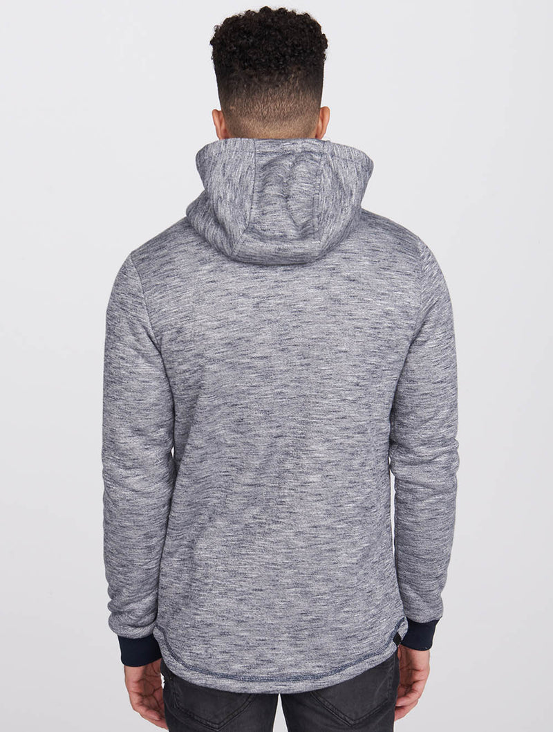 Men's Bonded Marled Zip-Up Hoody - Bench