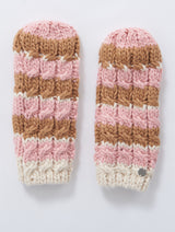 Feather Mittens