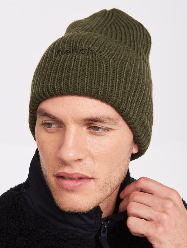 Accessory's CORE RIB TUQUE W/BENCH LOGO - Bench