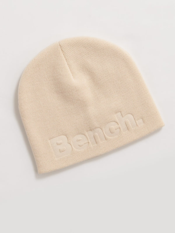 Accessory's BEANIE W/BENCH EMBOSSED - Bench